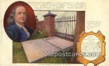 pol100102 - Benjamin Franklin United States Political Postcard Postcards