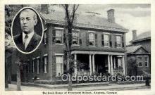 pol100105 - Woodrow Wilson President of the United States, Political Postcard Postcards