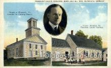 pol100110 - Calvin Coolidge President of the United States, Political Postcard Postcards