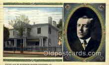 pol100137 - Woodrow Wilson President of the United States, Political Postcard Postcards