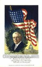 pol100142 - Woodrow Wilson President of the United States, Political Postcard Postcards