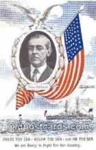 pol100147 - Woodrow Wilson President of the United States, Political Postcard Postcards