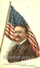pol100150 - Theodore Roosevelt President of United States, Political Postcard Postcards