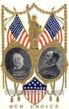 pol100156 - William Taft President of United States, James S. Sherman for Vice President, Political Postcard Postcards