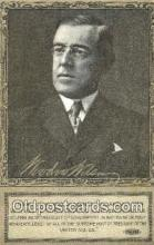 pol100159 - Woodrow Wilson President of the United States, Political Postcard Postcards