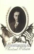 pol100164 - Woodrow Wilson President of the United States, Political Postcard Postcards