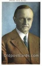 pol100209 - Calvin Coolidge 30th President of the United States, Political Postcard Postcards