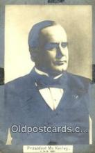 pol100213 - William McKinley 25th President of the United States Political Postcard Postcards