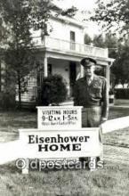 pol100216 - Dwight Eisenhower 34th President ot the United States, Political Postcard Postcards