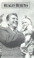 pol100223 - Reagan - Bush 1984, Political Postcard Postcards