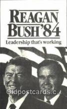 pol100224 - Reagan - Bush 1984, Political Postcard Postcards