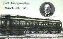 pol100259 - Willian Taft 27th Pesident of the United States, Political Postcard Postcards