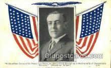 pol100278 - Woodrow Wilson President of the United States, Political Postcard Postcards