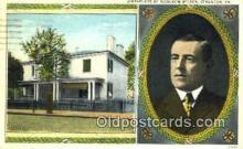 pol100282 - Woodrow Wilson President of the United States, Political Postcard Postcards