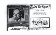 pol100304 - Harry Truman Other Presidents Postcard Postcards