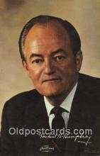 Non Postcard backing, Hubert H. Humphrey