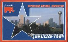 pol125003 - Dallas, Texas, Usa United States Political Postcard Postcards