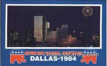 pol125004 - Dallas, Texas, Usa United States Political Postcard Postcards