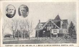 pol125018 - W.J. Bryan United States Political Postcard Postcards
