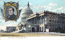 pol125030 - Capitol, Washington, D.C, Usa United States Political Postcard Postcards