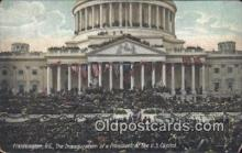 pol125038 - Washington D.C., Inauguration United States Political Postcard Postcards