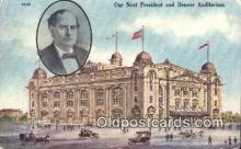 pol125049 - Dever Auditorium United States Political Postcard Postcards