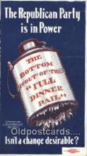 pol125068 - Bryan, J.M.Ermerins Detroit United States Political Postcard Postcards