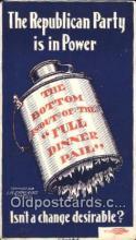 pol125071 - Bryan, J.M.Ermerins Detroit United States Political Postcard Postcards