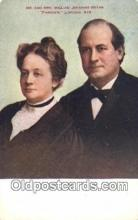 pol125083 - Awilliam Jennings Bryan United States Political Postcard Postcards