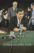 pol125085 - Mr. Lance United States Political Postcard Postcards