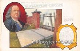 Benjamin Franklins Epitaph Writter
