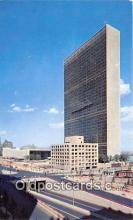 pol200011 - United Nations Nations Unies New York Political Postcard Post Card