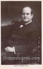 pol200022 - William Jennings Bryan  Political Postcard Post Card