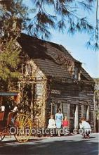 pol200027 - Oldest Wooden School House St Augustine, Florida Political Postcard Post Card