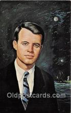 pol200041 - Robert F Kennedy  Political Postcard Post Card