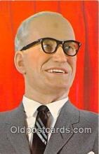 pol200044 - Barry M Goldwater, American Heritage Wax Museum Scottsdale, Arizona Political Postcard Post Card