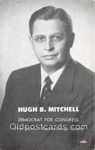 pol200047 - High B Mitchell Democrat for Congress, Seattle Kitsap County Political Postcard Post Card