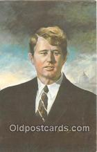 pol200058 - Robert F Kennedy By Artist Charles J McCarthy Political Postcard Post Card
