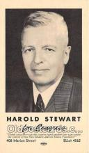 pol200063 - Harold Stewart Congress Political Postcard Post Card