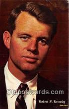 pol200068 - Robert F Kennedy  Political Postcard Post Card