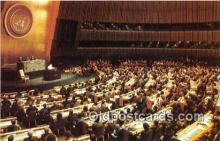 pol200079 - Pope John Paul II United Nations General Assembly, New York City Political Postcard Post Card