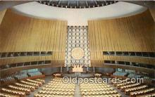 pol200090 - United Nations Nations Unies New York Political Postcard Post Card