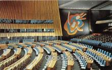 pol200093 - United Nations Nations Unies New York Political Postcard Post Card