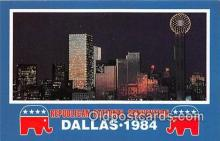 pol200116 - Republican National Convention Dallas, Texas 1984 Political Postcard Post Card