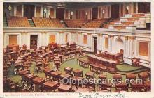 pol200135 - Senate Champer, Capitol Washington DC USA Political Postcard Post Card