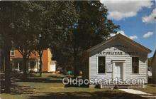 pol200139 - Little White School House Ripon, Wisconsin USA Political Postcard Post Card