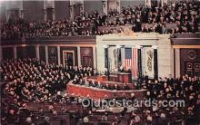 pol200150 - US Congress in Session Washington DC Political Postcard Post Card