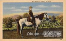 pol200151 - Gen Robert E Lee Traveler Political Postcard Post Card