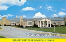 pol200158 - Herbert Hoover Presidential Library West Branch, Iowa USA Political Postcard Post Card