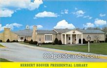 pol200160 - Herbert Hoover Presidential Library West Branch, Iowa USA Political Postcard Post Card